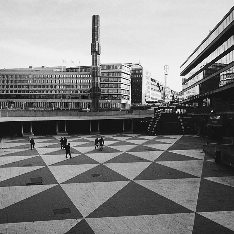 Sergels Torg  with b4 preset